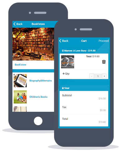 Siberian CMS App Maker's Mcommerce feature