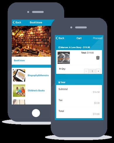 Siberian CMS App Maker's Mcommerce feature