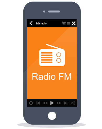 Siberian CMS App Maker's Radio feature