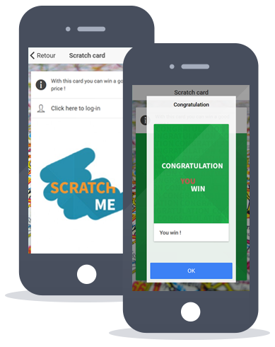App Maker feature scratch card